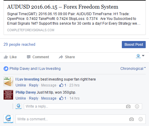 Email forex signals free